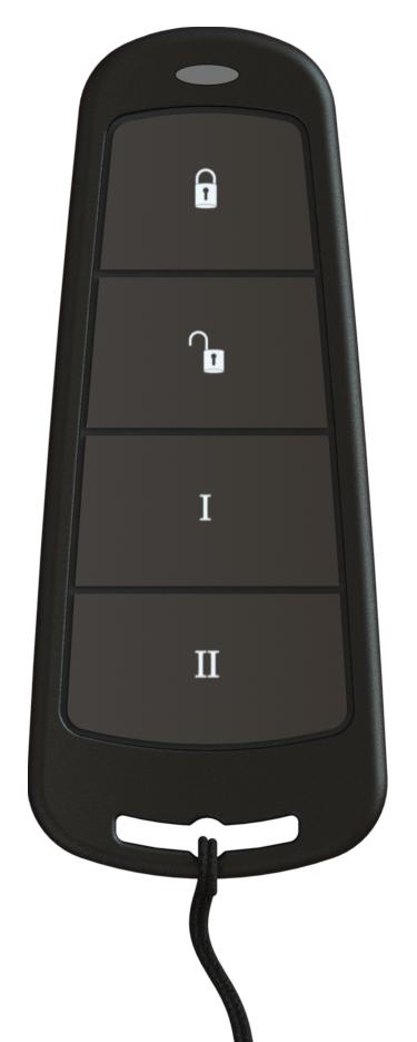 4 кнопочный радиобрелок управления KF4-WE