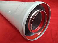Удлинитель 2м (2000мм) коаксиальный 60/100 турбо
