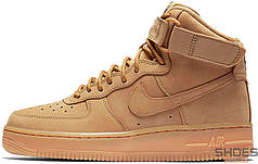 Мужские кроссовки Nike Air Force 1 High '07 WB Flax Brown