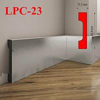 Пристенный плинтус из дюрополимера LPC-23 Cezar, 2,0м