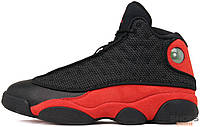 Мужские кроссовки Nike Air Jordan 13 Retro Bred Black/Red 414 571 004