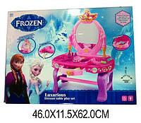 "Туалетный столик ""FROZEN"" 88018-01 (1370467)   батар,свет,звук,зеркало,фен,аксесс"