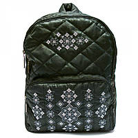 Рюкзак вышитый черный