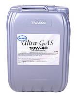 Полусинтетическое моторное масло 10W40 Ultra Gas oil  Vasco кан.20л/18кг