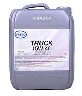 Минеральное моторное масло 15w40 VASCO TRUCK 20л/18кг