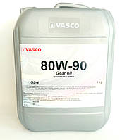 Трансмиссионное масло 80w90 Gear Oil  VASCO GL-4 10л/9кг