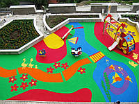 Універсальне покриття для дитячих ігрових майданчиків