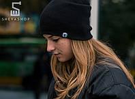 Зимняя шапка Протест чёрная