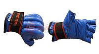 Шингарты кожаные, манжет на липучке - XL