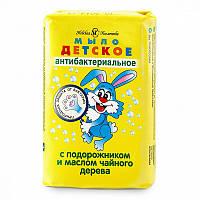 Детское мыло туалетное Антибактериальное, 90 г, Невская косметика