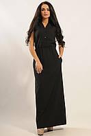 Платье «Ваниль» черного цвета