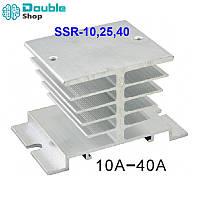 Радиатор охлаждения твердотельных реле SSR10 25 40A на DIN-рейку