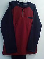 Комплект с брюками Oztas marsala/black  XL