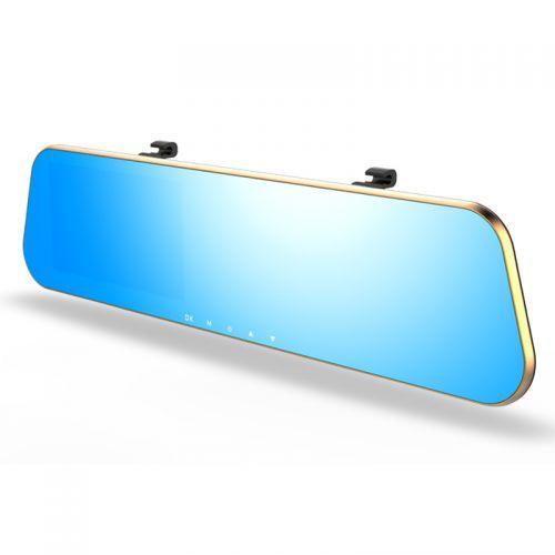 Зеркало заднего вида с видеорегистратором DVR SZ c 2мя камерами Gold