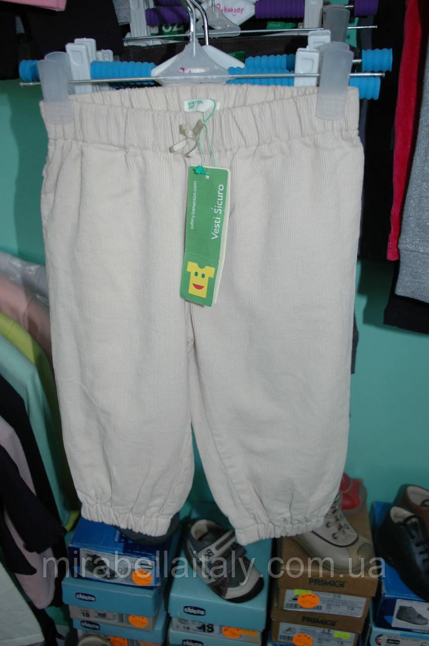Штаны вельветовые Benetton для девочки