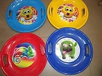 Санки ледянки(тарелка) 456