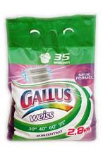 Стиральный порошок для стирки белого Gallus weiss 2,8 кг