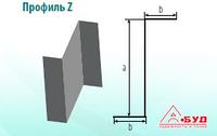 Стальной оцинкованный гнутый Z Профиль ЛСТК