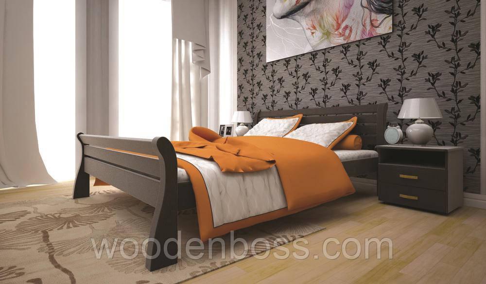 Ліжко ТІС РЕТРО 1 120*190/200 дуб