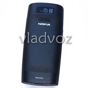 Корпус для Nokia X2 02 чёрный без средней части с английской клавиатурой class AAA, фото 2