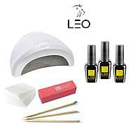 Стартовый набор ТМ LEO с  Сенсорной гибридной лампой 48 W