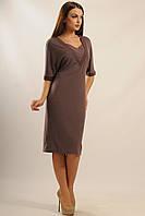 Платье «Орнелла» цвета капучино