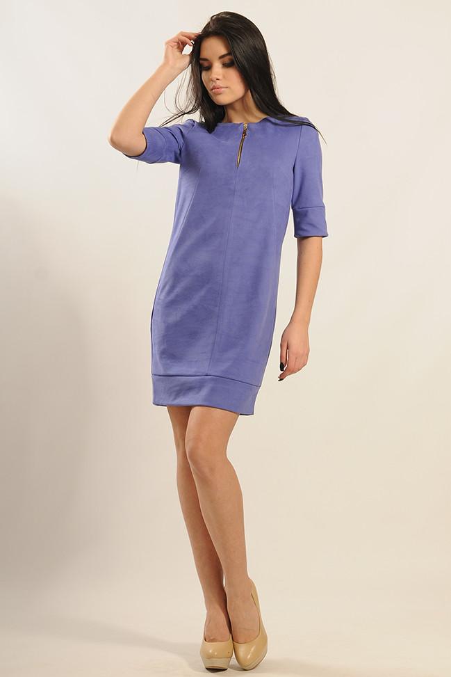 Платье «Маренго» сиреневого цвета