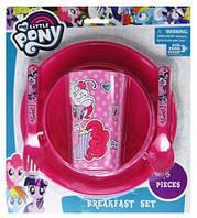 Набор для завтрака Мой Маленький Пони 5 предметов для девочек