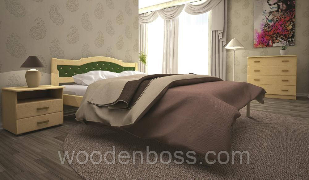 Кровать ТИС ЮЛИЯ 2 140*190/200 бук