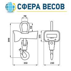 Весы крановые ВК ЗЕВС-III-РК (3 т), фото 3
