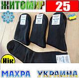 Носки мужские с махрой Житомир Украина  25 р. черные, фото 2
