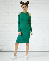 Платье «Вероника» зеленого цвета
