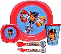 Набор для завтрака Щенячий Патруль 5 предметов  84039