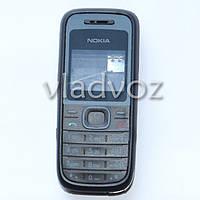 Корпус Nokia 1208, 1200 чёрный с английской клавиатура AAA