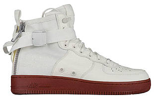 Кроссовки Nike SF Air Force 1 Utility Mid White Gum