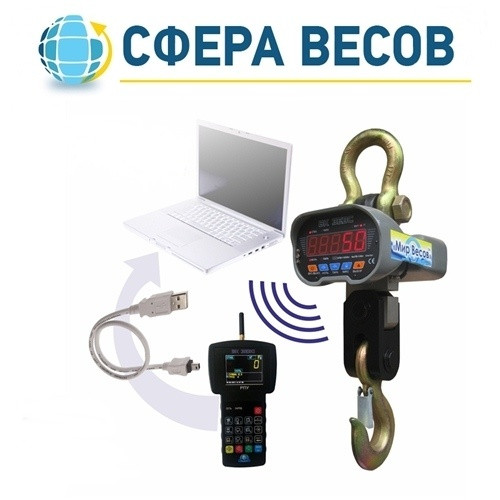 Весы крановые ВК ЗЕВС-III-РПУ (5 т)