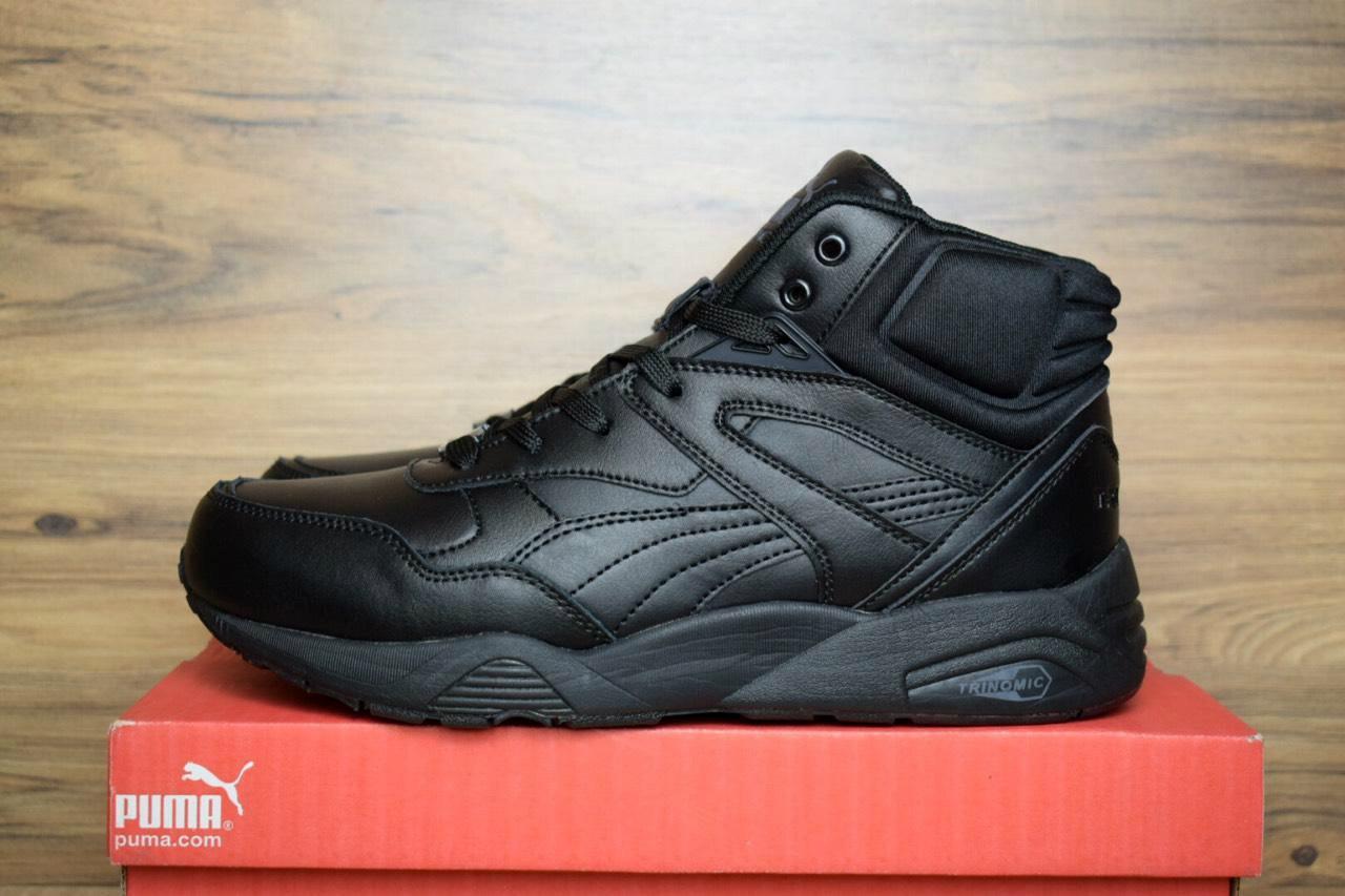8d61006ba 42 размер Зимние кроссовки мужские Puma Trinomic высокие черные 3136 -  Компания
