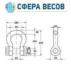 Весы крановые ВК ЗЕВС-III-РПУ (10 т), фото 2