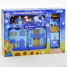 Двухэтажный кукольный домик-книжка