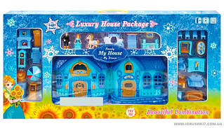 Двоповерховий ляльковий будиночок My House