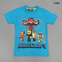 Футболка Minecraft для мальчика. 104, 110 см