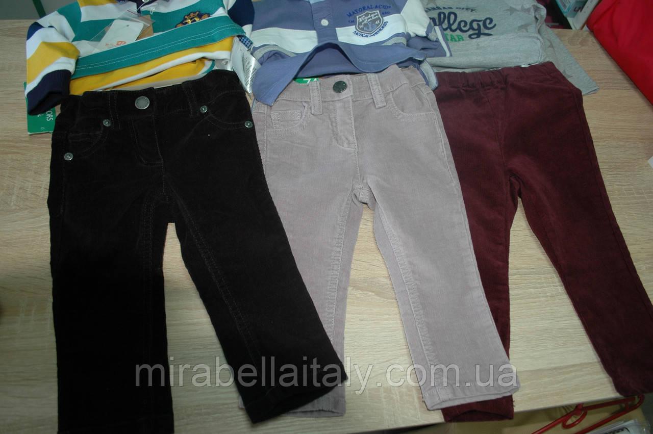 Штаны микро-вельветовые Benetton для мальчика