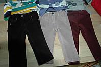 Штаны микро-вельветовые Benetton для мальчика, фото 1