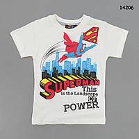 Футболка Superman для мальчика. 128 см