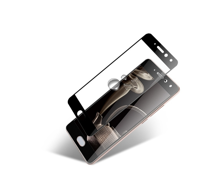 Full Cover защитное стекло для Meizu Pro 7 - Black