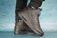 Мужские зимние кроссовки Nike Черные код Y10569
