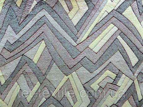 Плед из бамбукового волокна Wellsoft Абстракция беж. (200х220), фото 2