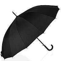Противоштормовой зонт-трость мужской полуавтомат с большим куполом RAINBOW 151
