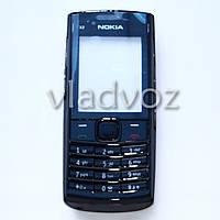 Корпус Nokia X2-02 чёрный с английской клавиатурой class AAA