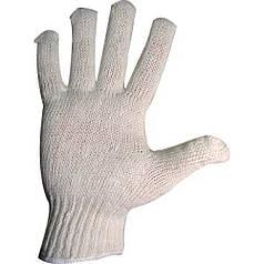 Перчатки вязаные без ПВХ точки, 8600